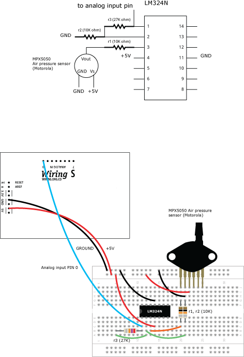airpressure learning wiring