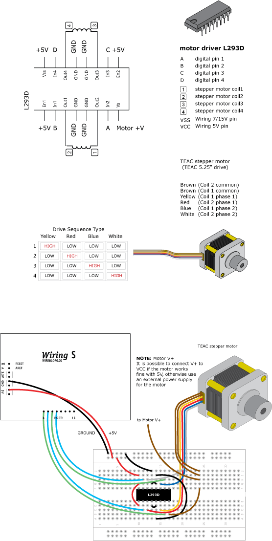 sanyo denki stepper motor 6 wire wiring  sanyo  free